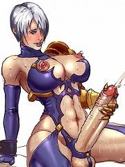 Futanari girls with big dicks