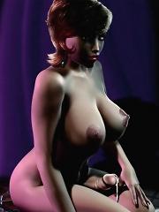 Naked nasty and wild hentai tgirls